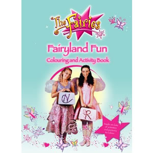 Fairyland Fun Colouring & Activity
